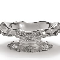 41. an american silver six-light candelabrum centerpiece, dominick & haff, new york, late 19th century  