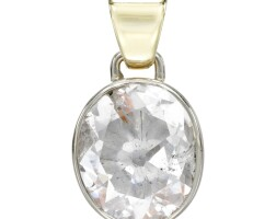 24. diamond pendant