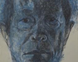 221. 尼蒂·瓦圖亞 | 自畫像藍色