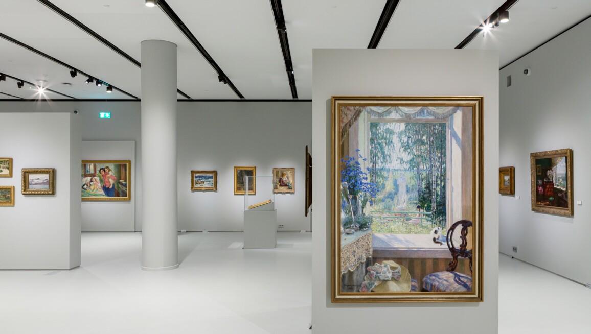 Interior View, Permanent Exhibition Museum of Russian Impressionism