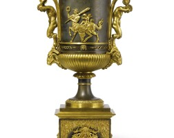 16. a russian neoclassical ormolu and patinated bronze vase, attributed to friedrich bergenfeldt circa 1790-1800