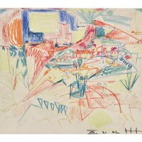 15. hans hofmann (1880 - 1966) | untitled, 1942