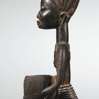 83. porteuse de coupe, yoruba, nigeria