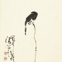 1209. 黃慎 1687-1768 | 小鳥枯枝