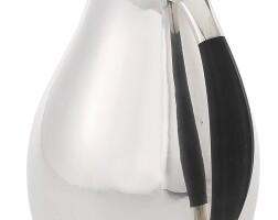 11. a danish silver water pitcher, no. 432g, georg jensen silversmithy, copenhagen, circa 1945-77