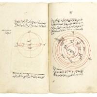 40. nizam al-din 'abd al-'ali ibn muhammad ibn husayn al-birjandi (d.1525), sharh al-tadhkirah al-nasiriyyah, a commentary on the 'memoir' of nasir al-din al-tusi, signed by muhammad husayn ibn muhammad yusuf taliqani, persia, safavid, dated 1051 ah/1641 ad  