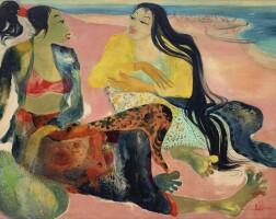 1049. 亨德拉·古拿溫 | 海灘二女子