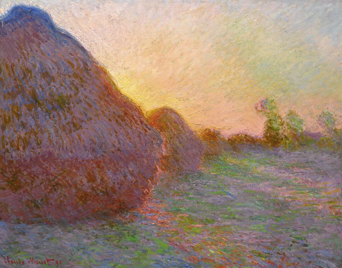 "Monet's ""Meules"" Sells for Astonishing $110.7 Million, a New ..."