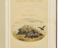 18. carpenter, percy. 'hog hunting in lower bengal'. london: day & son, 1861