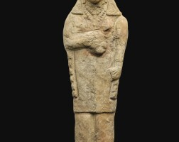 2. a cypriote terracotta figure of aphrodite/astarte, 6th century b.c. | a cypriote terracotta figure of aphrodite/astarte
