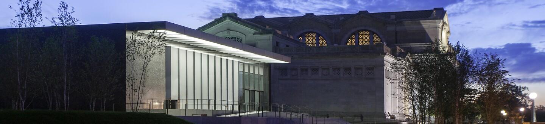 Exterior View, St. Louis Art Museum