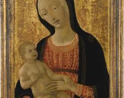 106. matteo di giovanni di bartolo, called matteo da siena | the madonna and child