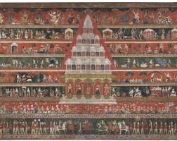 901. apaubha depictinga krishna temple nepal, 17th/18th century |