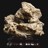 3115. a scholar's rock ming – qing dynasty |