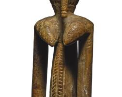 11. dogon janiform figure,mali