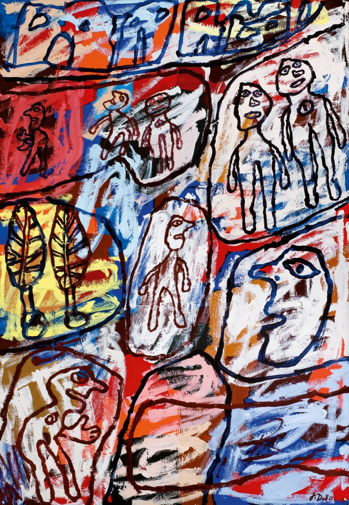 Jean Dubuffet Founding Father Of Art Brut Contemporary