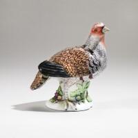 24. a meissen figure of a partridge circa 1750