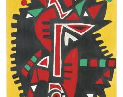 168. ademola olugebefola (b. 1941) | untitled, 1969