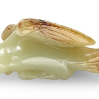 74. a song-style yellow jade 'hawk' pendant 17th/18th century