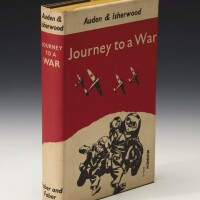 6. auden and isherwood, journey to a war, 1939 (1 vol.)