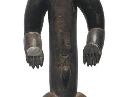 44. bete male figure, ivory coast