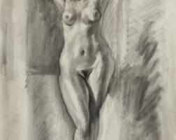 22. 亨利・馬蒂斯 | 《舉高雙臂的裸女立像》