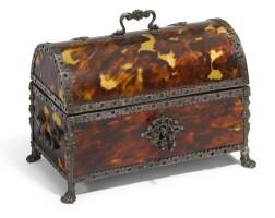 34. spanish colonial, probably mexico, circa 1700   casket