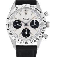 216. 勞力士(rolex) | 6239型號「'pulsometer' daytona」精鋼計時腕錶,年份約1967。