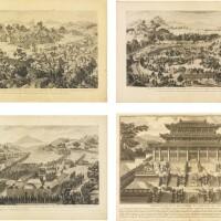 182. 清乾隆 1783-1788年作 赫爾曼 《乾隆得勝圖》