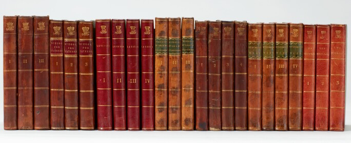 Gothic Novels, Collection of 138 volumes. Estimate £10,000-15,000