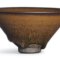 12. a jian russet-streaked 'nogime temmoku' bowl southern song dynasty