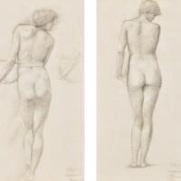 3. Sir Edward Coley Burne-Jones, Bt., A.R.A. (1833-1898) and Charles Fairfax Murray (1849-1919)