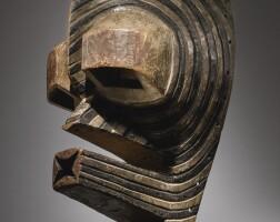 121. songye mask, democratic republic of the congo