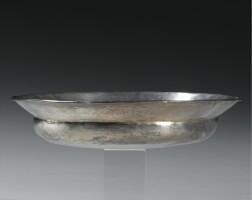 49. a greek silver phiale mesomphalos, circa 4th/5th century b.c.