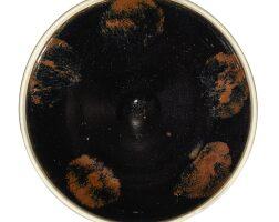 312. a large cizhou russet-splashed bowl northern song dynasty |