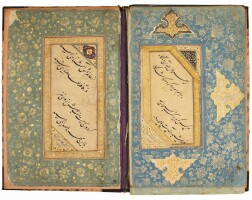 38. an album of calligraphies, persia and india, 16th century and later  