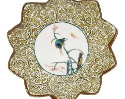 469. a kutani dish edo period, late 17th century |
