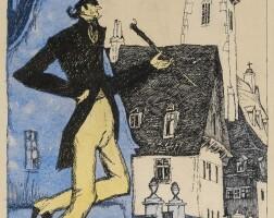 1. 萊昂內爾・費寧格 | 《高個子》