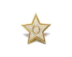 1603. diamond clip brooch, van cleef & arpels