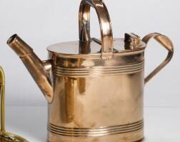 1225E. a victorian copper watering can second half 19th century
