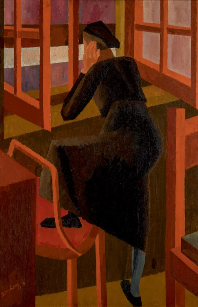 David Bomberg, At the Window, 1919. Estimate £500,000-800,000.