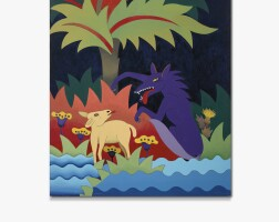 5. willy aractingi | le loup et l'agneau (the wolf and the lamb - from the fable de la fontaine series)