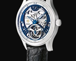 40. chopard | l.u.c. tourbillon tech steel wings, reference 161901-1001 a limited edition white gold semi-skeletonised tourbillon wristwatch with power reserve indication, circa 2008