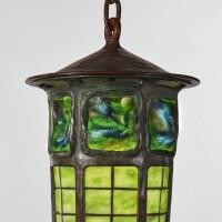 "325. tiffany studios | ""turtle-back"" lantern"