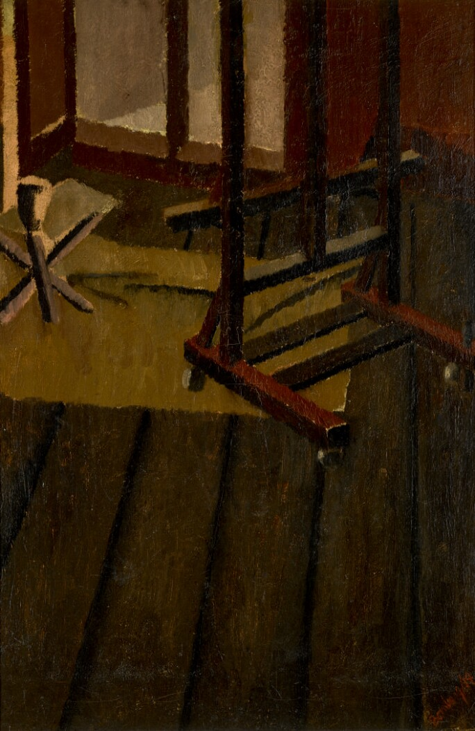 David Bomberg, The Studio, 1919. Estimate £100,000-150,000.