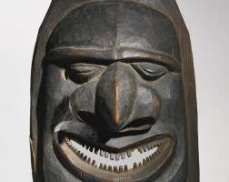 12. kanak mask, new caledonia