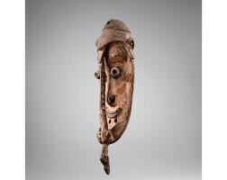 59. masque, groupe chambri, lac chambri, cours moyen de la rivière sepik, papouasie nouvelle-guinée