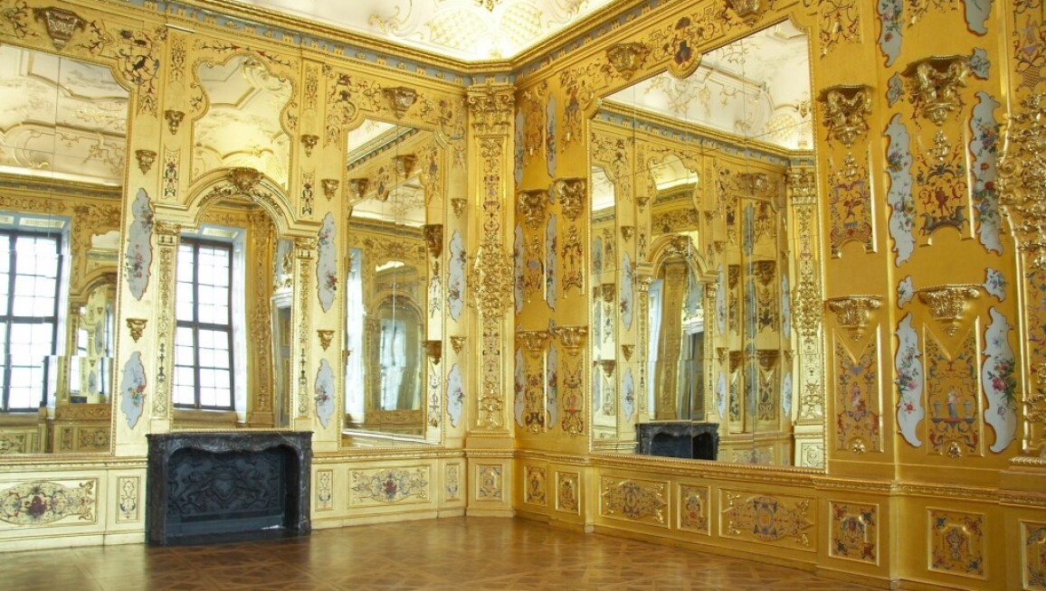 Gold Cabinet at the Lower Belvedere