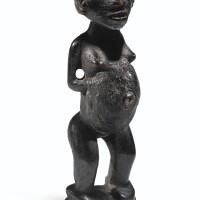 4. statuette, sundi, république démocratique du congo
