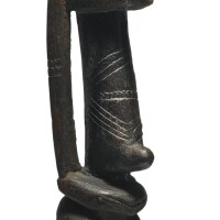 7. dogon bombu-toro female figure, mali